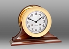 Chelsea Shipstrike Clock on Traditional Base 6 Inch
