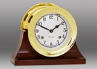 Chelsea Shipstrike Clock on Contemporary Base 4.5 Inch