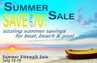 In-Store Summer Sale
