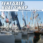Landfall's Fall Tent Sale & Boat Swap Sept 23 & 24