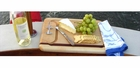 Soundview Millworks Nautical Serving Tray - Single Cleat, Single Stripe - Medium