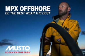 Musto Ocean and Offshore Gear
