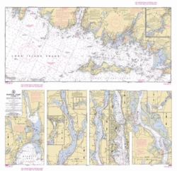 Nautical Chart Wrapping Paper
