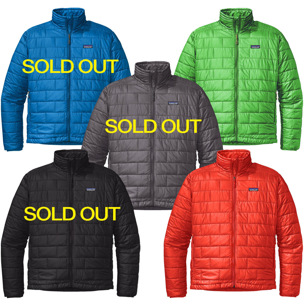 Patagonia Men S Nano Puff Jacket Closeout