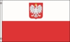 Courtesy Flag Poland w/ Eagle