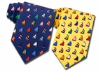 Alynn Neckwear Rainbow Fleet Ties