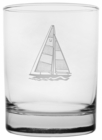 Rolf Glass Sailboat Double Old Fashioned