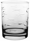 Rolf School of Fish Old Fashioned Glasses