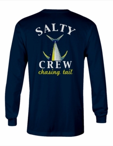 Salty Crew Chasng Tail Fish Tech L/S