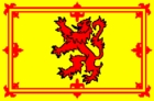 Courtesy Flag Scotish Rampant Lion