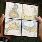 ScreenCraft Custom Nautical Chart Coasters and Accesories