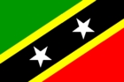 Courtesy Flag St. Kitts & Nevis