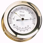 Weems & Plath  Atlantis Barometer & Thermometer  Brass