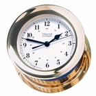 Weems & Plath  Atlantis Quartz Clock Brass