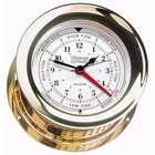 Weems & Plath  Atlantis Time & Tide Clock Brass
