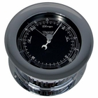 Weems & Plath  Chrome Plated Atlantis Premiere Barometer, Black Dial/ W