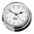 Weems & Plath  Endurance 125 Clock, Chrome