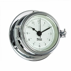 Weems & Plath  Endurance II 105 Quartz Clock  Chrome