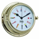 Weems & Plath  Endurance II 135 Quartz Clock w/ Signal Flag Dial