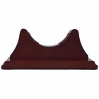 Weems & Plath  Single Base with Back Panel for Atlantis Mahogany