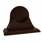 Weems & Plath  Single Mahogany Base for Endurance 125 Series