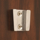 Weems & Plath Wall Square Bracket (Chrome) for 6 in. or 7 in or 8 in. Bells