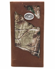 3D Badger Men's Camo Rodeo Wallet - Brown