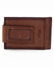 3D Magnetic Money Clip - Distressed Brown