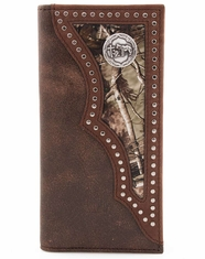 3D Praying Cowboy Camo Rodeo Wallet - Brown