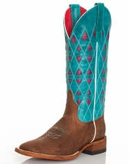 Macie Bean Women's Turquoise Sinsation Boots (Closeout)
