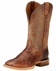 Ariat Men's Cowhand Square Toe Boots -  Adobe Clay/Taupe