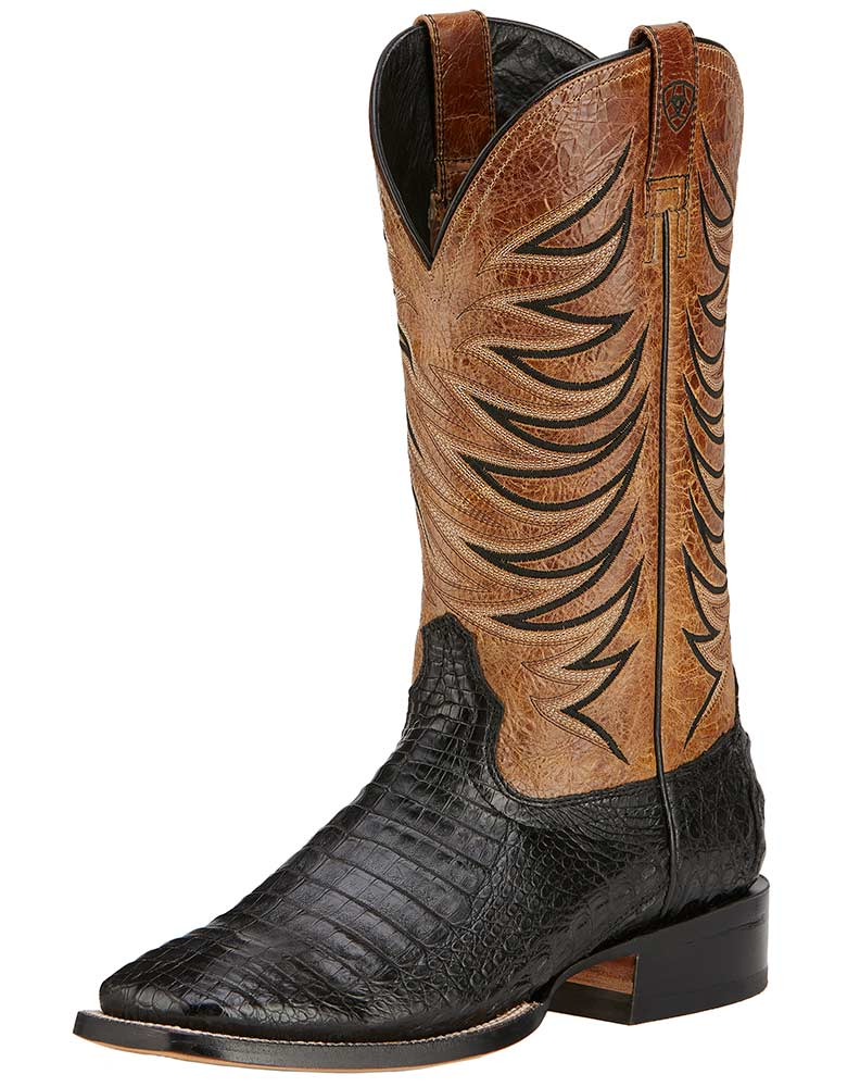 aa64db801a0387 ariat-men-s-fire-catcher-caiman-belly-13-wide-square-toe-boots -black-tan-belly-old-west-brown-11.jpg