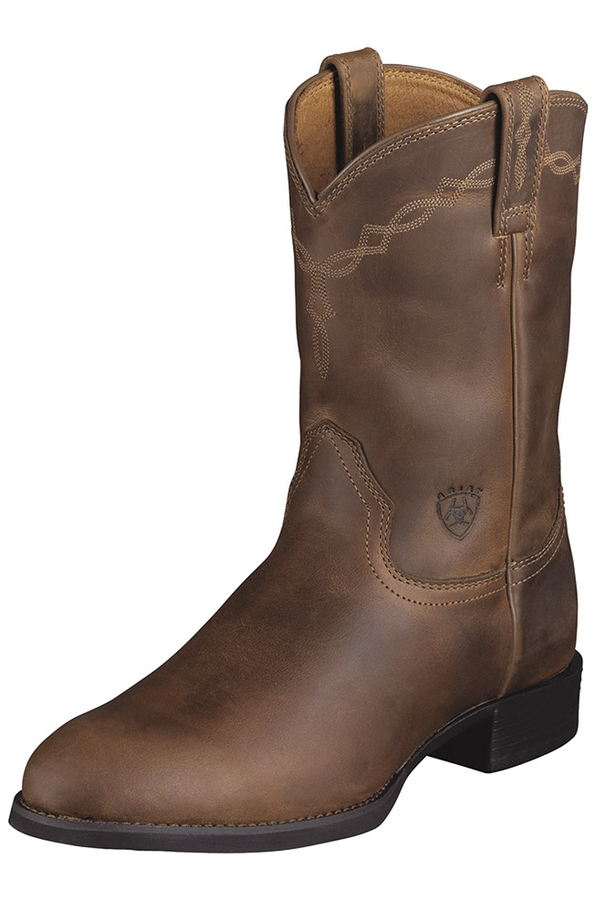 Ariat Men's Heritage Roper - Distressed Brown