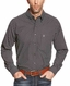 Ariat Men's Long Sleeve Classic Fit Print Button Down Shirt - Black (Closeout)