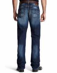 Ariat Men's M4 Low Rise Relaxed Boot Cut Jeans - Riverton