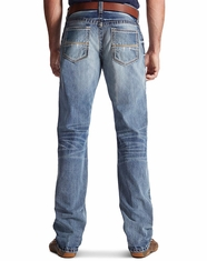 Ariat Men's M4 Low Rise Relaxed Boot Cut Jeans - Durango