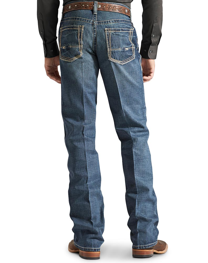 Ariat Men's M4 Low Rise Relaxed Boot Cut Jeans - Gulch