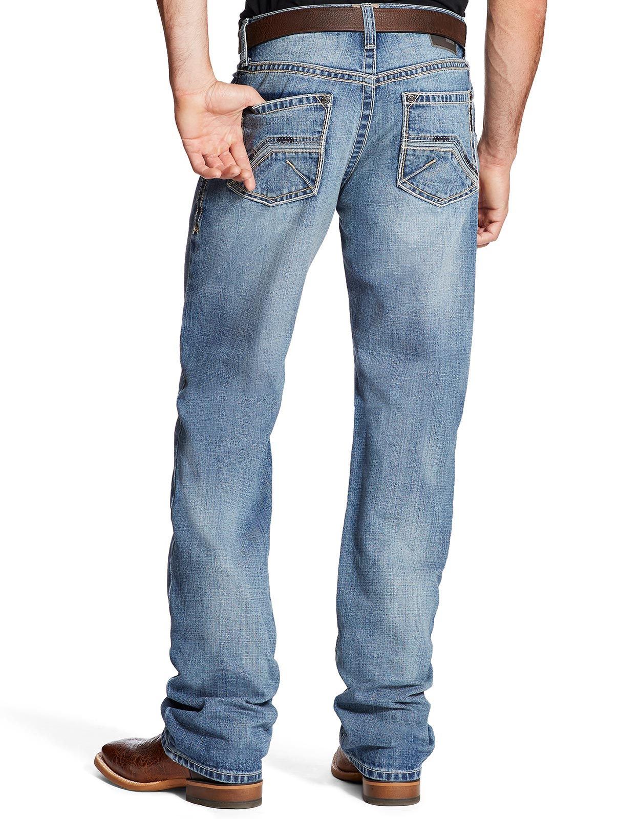 Ariat Men's M4 Low Rise Relaxed Fit Boot Cut Jeans - Wyatt