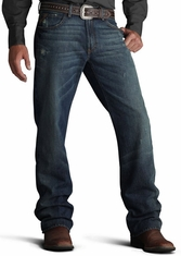 Ariat Men's M4 Low Rise Boot Cut Jeans - Tabac