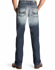 Ariat Men's M5 Low Rise Slim Straight Leg Jeans - Atlantic