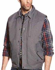 Ariat Men's Pasco Vest - Charcoal (Closeout)