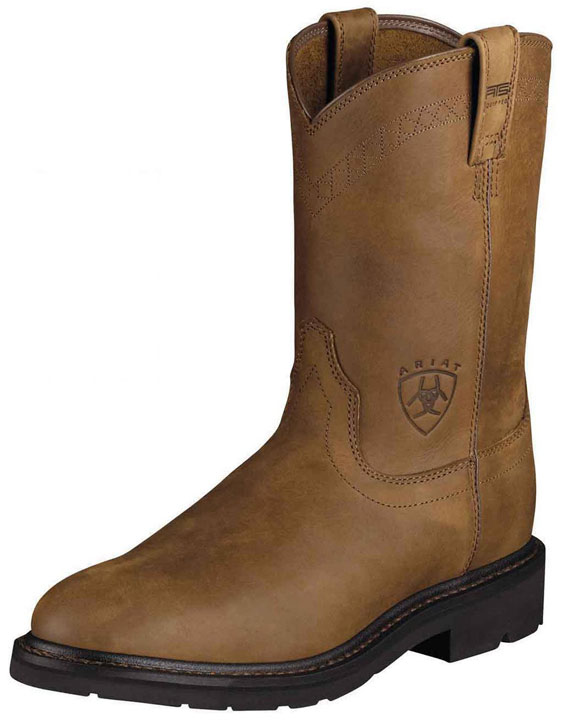 Ariat Men's Sierra Work Boots - Aged Bark