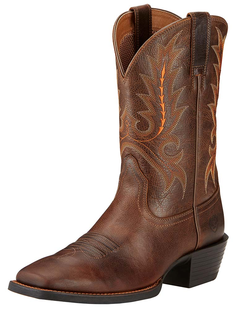 Ariat Men's Sport Outfitter Square Toe Boots - Wicker