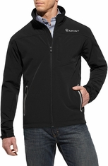 Ariat Mens Vernon Softshell Jacket - Black