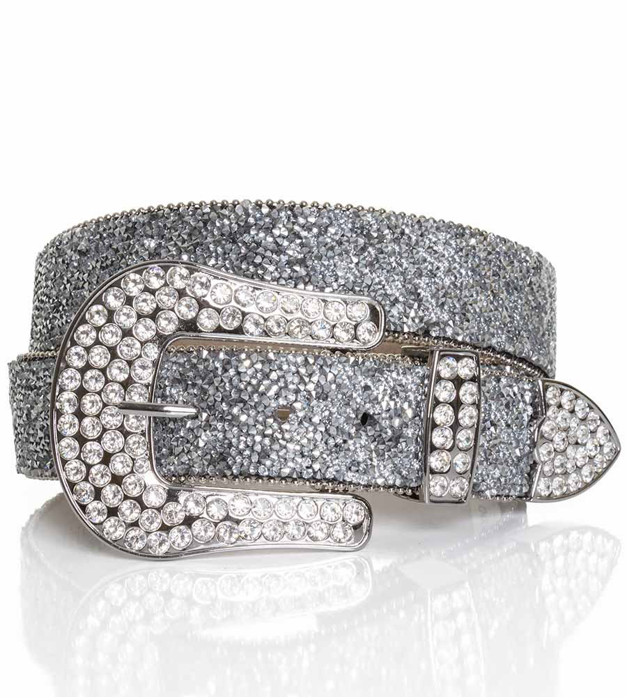 Ariat Women S 1 1 2 Crystal Belt