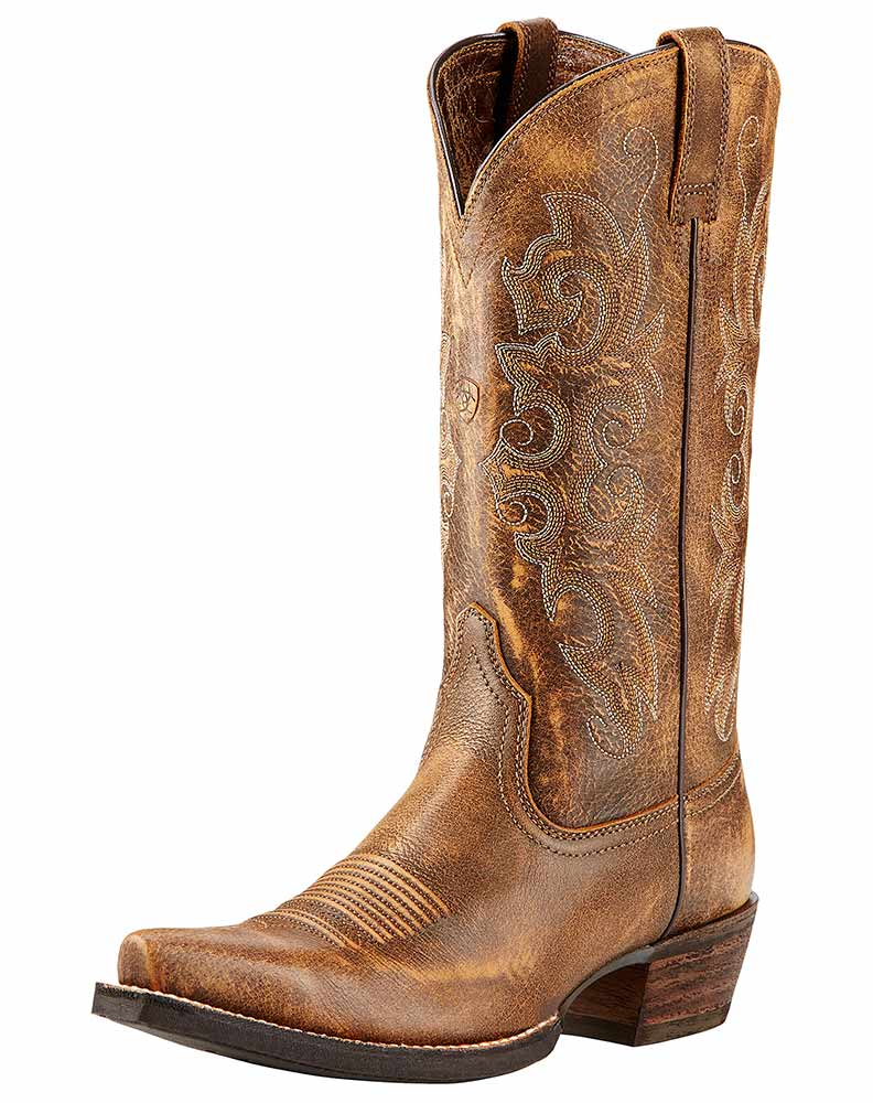 Brown Womens Cowboy Boots | FP Boots