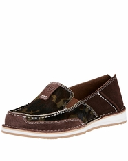 Ariat Women's Cruiser Camo Slip-On Shoes - Brown