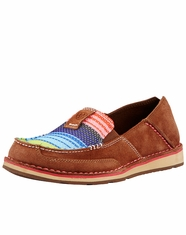 Ariat Women's Cruiser Shoe - Palm Brown/Serape