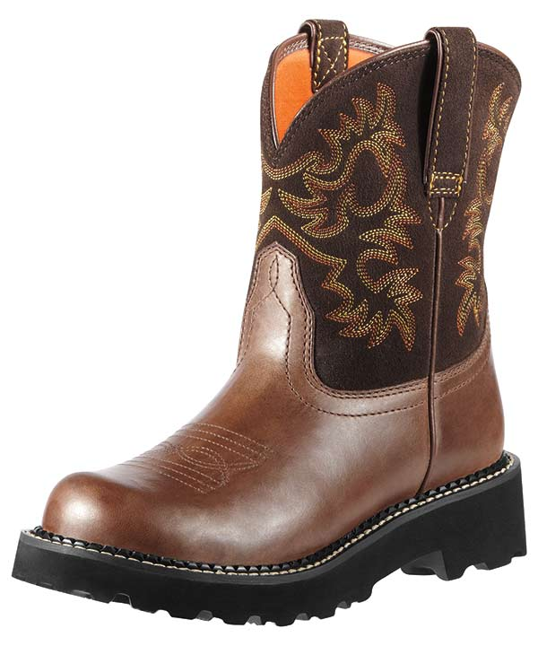 Women's Fatbaby Cowboy Boots - Brown Rebel/Brownie