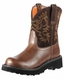 Ariat Women's Fatbaby Cowboy Boots - Brown Rebel/Brownie